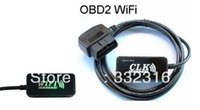 apple demo - Newest version wifi OBD2 for WiFi OBD II Car Diagnostics Tool support for Apple iPad iPhone iPod Touch with freeshipping
