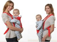 Wholesale new Multifunction Baby Safety Carrier Sling Portable Front Carrying Strap Soft Cushion child Infant Carrier Backpack kids Sling
