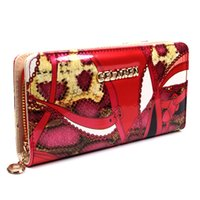 Wholesale 2015 new arrival woman fashion wallet red color tote purse for cellphone lady coin case muttifunction bags lady card holder wallets