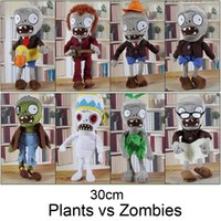 baby games for children - Hot CM Plants vs Zombies Soft Plush Toy Doll Game Figure Statue Baby Toy for Children Gifts Party toys Hot sales