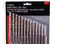 Wholesale 13Pcs Set HSS Metal Twist Drilling Bit High Speed Steel Drill Bit