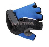 Wholesale 2014 New Fashion Outdoor sports Cycling Bicycle Mountain Antiskid Gel Half Finger Gloves Riding Gloves