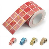 bathroom wall borders - Mosaic wall stick PVC kitchen waist line self adhesive of wall paper roll waterproof bathroom tile stickers wallpaper border