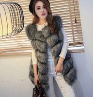 american red fox - Winter Coat Women Import Whole Peel Fox Fur Vest High Grade Cappa Fur Coat Leisure Shitsuke Women Coat Size S XXXL New Arrival