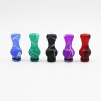 Wholesale Calabash Acrylic Drip Tips Mouthpieces E Cig Atomizer Drip Tips for EGO Electronic Cigarette Atomizer