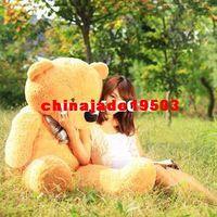 Wholesale 100 Cotton Light Brown Giant cm Cute Plush Teddy Bear Huge Soft TOY