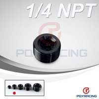 Wholesale PQY STORE quot NPT Pipe Thread Allen Socket Plug black npt plug PQY SL932