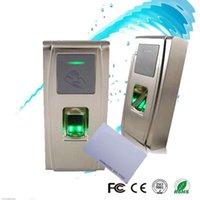 fingerprint door access - zksoftware MA300 biometric fingerprint access control with TCP IP and MHZ MF card reader IP65 waterproof for out door use