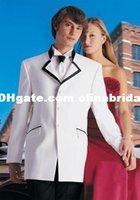 men dress suits - 2015 Fashion Men Suits High quality people s wedding dress the groom wear a suit PROM dress
