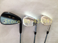 Wholesale golf clubs SM4 wedge degree with steel shaft black silver Champagne golf wedges