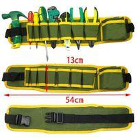 Wholesale Hot Hardware Worker Mechanics Canvas Tool Bag Home Utility Kit Pocket Safe Belt Pouch Multifunction Bags