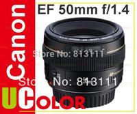 Cheap Canon EF 50mm f 1.4 F1.4 USM Lens For 70D 700D 600D 7D 6D 60D 5D MK III