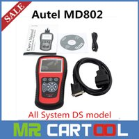 Wholesale Original Autel maxidiag md802 systems Elite All System Including MD701 MD702 MD703 MD704 in with DS model DHL