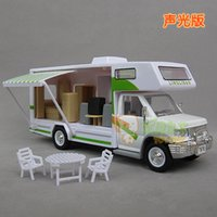 assemble furniture - Diy assembling rv travel with furniture acoustooptical WARRIOR alloy toy car model