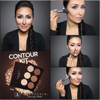 Wholesale Carbonate Mud Mask New Makeup Face CONTOUR KIT Bronzers Highlighters DHL