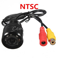 Wholesale E328 NTSC CMOS LED Auto Car Rearview Rear View Reversing Flush Backup Day Night Vision Parking Park Light Security Cameras NEW