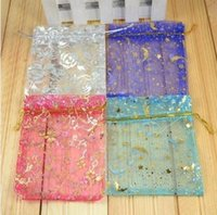 Wholesale discount x9cm small jewelry bags organza bag small gift bags jewelry pouch