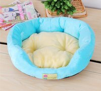 beds for pets - Dog Bed Dog House Cat Bed Sherpa Cotton Nest Pet Dogs Bed for homless pets Candy color Products for Animals