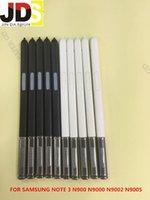 Cheap Wholesale-10Pcs lot Free Shipping Black White Stylus Touch Screen Pen For Samsung Galaxy Note 3 N900 N9000 N9002 N9005 N9006 N9008