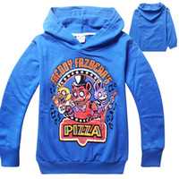 Wholesale 2015 AAA Quality Color Size Kid Boy Girls Youth Five Nights at Freddys Hoodies Coat Jacket Outwear Gift