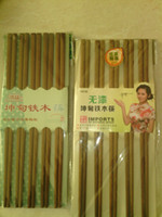 Wholesale Imports of red wingceltis fine wooden chopsticks lacquer wax can be customized