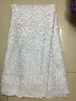 Wholesale african cord lace French net Lace Fabric CGL african net lace high quality wedding lace