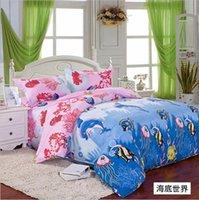 Cheap Shop Hello Kitty Bedding Set 100% Cotton Christmas Gift Brand Bed Clothing Comforter Set Bed Set Quilt Cover Linens Duvet Set Kids W39733