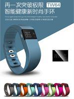 Wholesale Waterproof IP67 Smart Wristbands TW64 bluetooth fitness activity tracker smartband wristband pulsera wristband watch not fitbit flex fit bit