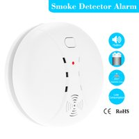 Wholesale High Sensitive Photoelectric Home Security System Cordless Wireless Smoke Detector Fire Alarm Sensor order lt no track