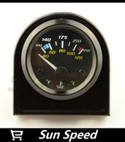 Wholesale SUN SPEED quot MM WATER TEMP GAUGE WITH SENSOR TWO DEGREE READING