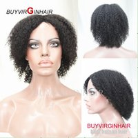 human hair afro wigs - by virgin hair brazilian human hair wig curly wig for black women afro kinky curly glueless wig hairstyle wig lady short hair wig