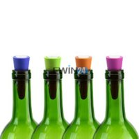 Wholesale Bottle Stoppers For Sealing Wine Champagne Soda Oil and Vinegar bottles Air Tight Assorted Colors New Hot Selling