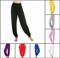 Wholesale 2015 Hot Sale Women Lady Harem Yoga Pants Modal Comfy Sports Workout Pants Belly Dance Boho Wide Plus Size Casual Bottoms Trousers Bloomers
