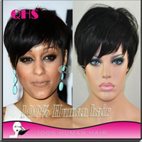 Black full lace wigs for black women - 100 Brazilian Full Lace Wig Glueless Human Lace Front Bob hair Wig None Lace Wig Short wig With Baby Hair For Black Women