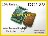 Wholesale DC Motor Remote Controller MHZ V channel wireless remote control switch for motor forward and reverse