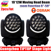 beam moving head light suppliers - New Designed OSRAM Leds19 W IN1 RGBW Zoom Function LED Moving Head Beam DMX chs Stage Lighting Equipment Supplier
