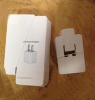 Wholesale Promotion hot sale empty retail package packing box for US plug wall charger home adapter for iphone s s