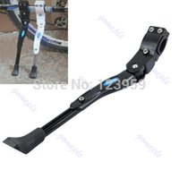 Wholesale For MTB Road Mountain Bicycle Cycling Black Adjustable Bike Side Kickstand Stand