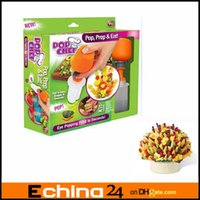 Wholesale POP CHEF Fruit Cutter Food DECORATOR CAKE SHAPE CREATOR PopChef