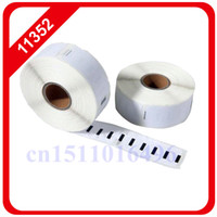 adhesive address labels - 100x rolls Dymo Compatible Labels Return address mm x mm Seiko label Labels Per Roll adhesive sticker