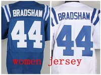 ahmad bradshaw jersey - Factory Outlet NEW Draft Women Jersey Ahmad Bradshaw Football Jersey Bradshaw Size S XL Embroidery and Sewing Logos