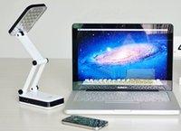 Cheap LED Light Desk Lamp Easy-Touch Switch Portable Folded 24 LED Lights new
