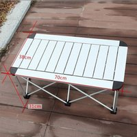 Wholesale Free EMS Outdoor Folding Outdoor Picnic Table Portable Picnic Table Full Aluminum Alloy Tables Foldable Table
