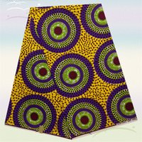 dyed fabric - Excellent design dyeing real wax series HW170 new African super cotton printed wax fabric for clothing
