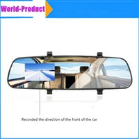 angling direct - 2 quot TFT Rear view Mirror Car Dvr Direct Selling Super Night Vision Car dvr HD Wide Angle On Board Monitoring