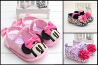 beautiful soles baby shoes - Elastic band girls toddler shoes children floral fabric soft soled shoes beautiful flowers magic baby shoes pair B7