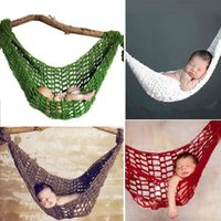 Wholesale Hot Sale Newborn Baby Swings Baby Hammock Cocoon Photography Photo Prop Handmade Jumpers Swings High Quality