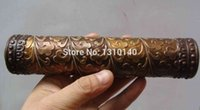 antique kaleidoscope - Deal Metal Crafts Chinese antique carved flower and old brass kaleidoscope High grade collectibles