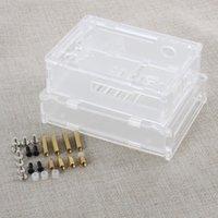 Wholesale Hot Acrylic Czse For Computer Banana Pro Plastic Transparent Box Shells HDD Enclosure HDD Enclosure