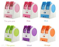 small fans - Fragrance small fan battery dual mini usb small fan handheld air conditioning fan air conditioner